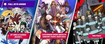 Anime SimulDubs Schedule