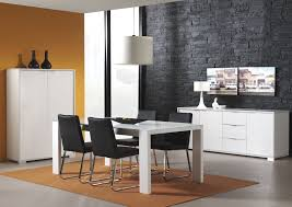 Stone Dining Room Table Apartment Modern Home Interior Design Small Contemporary Dining