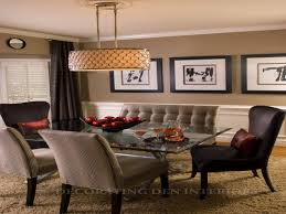 Dining Room Feature Wall Dining Dining Room Color Schemessee New Color Schemes Styles And