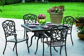 image of black cast iron patio furniture bistro black iron outdoor furniture