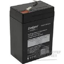 <b>Exegate</b> EP234535RUS Аккумуляторная <b>батарея</b> DT 6045 (<b>6V</b> 4.5 ...