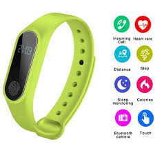 M2 <b>Smart Bracelet Pedometer Heart</b> Rate Wristband Sleep Monitor ...