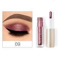Ladies Eyeshadow <b>Makeup</b> Metallic <b>Shiny Smoky Eyes</b> Eyeshadow ...