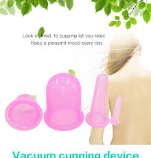 <b>Massage Cupping Cups Silicone</b> Vacuum Suction Cupping Therapy ...
