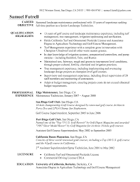 golf course superintendent resume examples resume examples 2017 resume superintendent