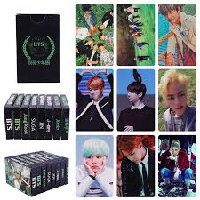 <b>30PCS</b> KPOP BTS LOMO Photo Fans Card <b>Set</b> Official Postcards ...