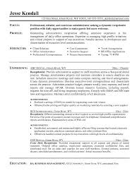 receptionist resumefree resume templates