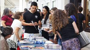 local mall hosts riverside college and career fair viewpoints online representatives at the riverside college and career fair held sept 20 gain the interest of
