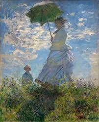 impressionism daily motions w a parasol