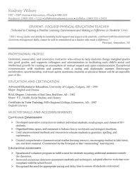 resume example teaching  gifhigh school teacher resume example