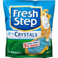Fresh Step Crystals Premium Cat Litter, 4 lb - Fred Meyer