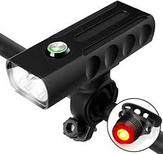 Megulla Bike Light Front and Rear, <b>USB Rechargeable Bicycle Light</b> ...