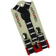 <b>Winfox</b> Fashion Girls Kids Child Toddlers Suspenders Beard 2.5<b>cm</b> ...
