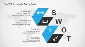 swot analysis template for powerpoint slidemodel blue swot analysis ppt slide design