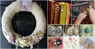 25 Amazingly <b>Creative</b> Ways To Repurpose Vintage <b>Jewelry</b> - <b>DIY</b> ...