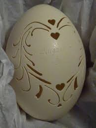 Hand-Carved Rhea: <b>Wedding</b> Egg <b>Custom</b> Name Date (#123) | Egg ...