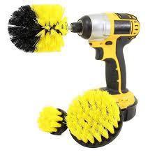 <b>Gocomma Electric Drill</b> Brush Head Yellow Brushes Sale, Price ...