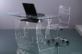 acrylic computer desk 1 acrylic office chair