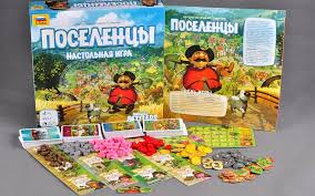 <b>Настольная игра Поселенцы</b> купить можно тут - Мосигра Москва