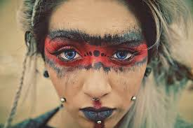 Pin by Юлия Зиновьева on Wicca | Tribal <b>makeup</b>, Apocalypse ...