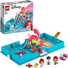 <b>LEGO</b> 43176 <b>Disney Princess</b> Ariel's Storybook Adventures Playset ...