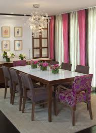 Teak Dining Room Chairs Dining Room Plain Chocolate Wall Colour Mixed With Upholstered