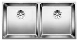 Врезная <b>кухонная мойка Blanco Andano</b> 400/400-U InFino 86.5 ...