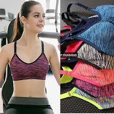 <b>women yoga</b> fitness stretch workout tank top <b>seamless</b> racerback ...