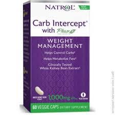 ᐈ NATROL <b>Carb Intercept Phase 2</b> 60 веган капсул — Купить ...