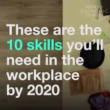 these are the skills you ll need in the workplace by  these are the 10 skills you ll need in the workplace by 2020
