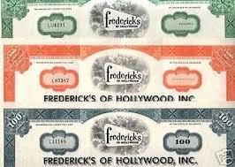 Mega Raro 3 Colores Fredericks of Hollywood <b>Set</b> @ 3.33 <b>EA</b> ...