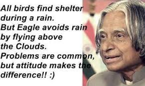 14 Inspirational Quotes for your Life by Dr. APJ Abdul Kalam -