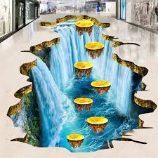 beibehang <b>Custom flooring painting 3d</b> large three dimensional ...