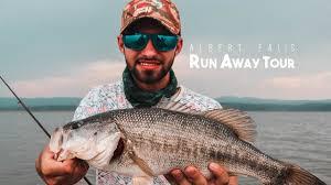 <b>Fishing</b> for GIANT Bass with Electronic <b>Laser Lure</b> - Albert Falls ...