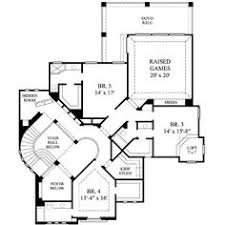 house plans   secret rooms   Google Search   house ideas    Mediterranean Style House Plan   Beds Baths Sq Ft Plan Floor Plan   Upper Floor Plan