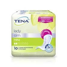 Урологические <b>прокладки Tena Lady Slim</b> Mini, 10 шт. (3958927 ...