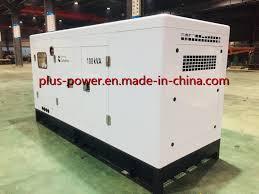 <b>China</b> Plus Power <b>Soundproof 100kw</b> Silent Cummins Diesel ...