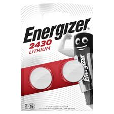 <b>Батарейки Energizer Lithium CR2430</b> 2 шт. блистер — купить в ...