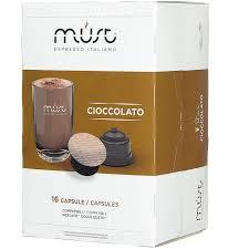 Купить <b>Капсулы MUST</b> DG <b>Cioccolato</b> 16шт, Кофе в капсулах в ...