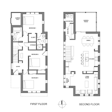 Chuck    s House   Kuhn Riddle ArchitectsThe floorplan is upside down   the bedrooms on the first floor and living spaces on the second  This strategy elevates the main living spaces
