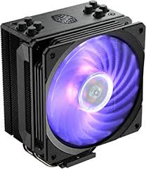 <b>Cooler Master</b> Hyper 212 <b>RGB</b> Black Edition CPU Air Cooler ...