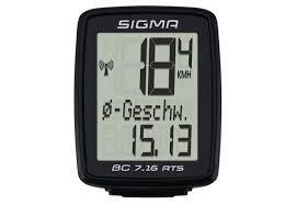 Купить <b>Велокомпьютер Sigma Sport</b> BC 7.16 ATS