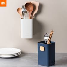 Xiaomi Mijia <b>Wall mounted Chopsticks Cage</b> Rack Drain Anti ...