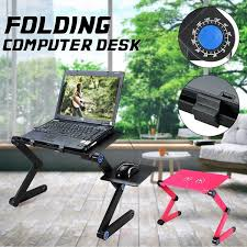 <b>Portable</b> 360° <b>Foldable Laptop</b> Desk Table Home Use Adjustable ...