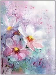 Купить Космос - <b>космея</b>, цветы, розовый, лето, акварель ...