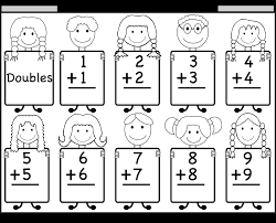 Addition Doubles Facts – Beginner Addition worksheet / FREE ...addition doubles. Worksheet – Download