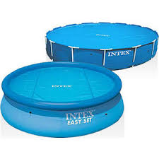 Тент Intex 29024 для бассейнов Easy Set и Metal Frame 488 см ...