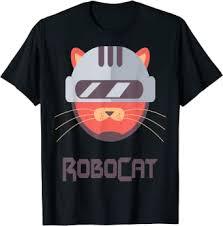 RoboCat Funny Kitty Dressed Up As Robo Cop ... - Amazon.com