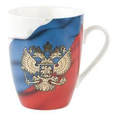 <b>Кружка</b> фарфоровая <b>Polystar</b> Армия России, 360 мл — купить в ...