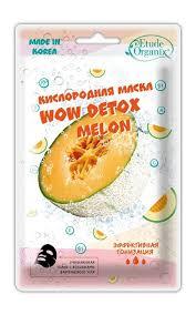 <b>Маска для лица ETUDE</b> ORGANIX Wow detox melon кислородная ...